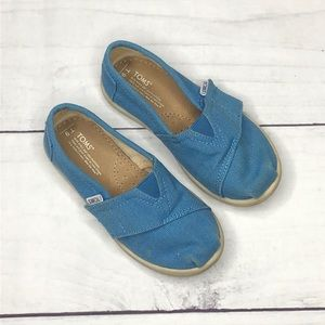 Boys TOMS Velcro Shoe